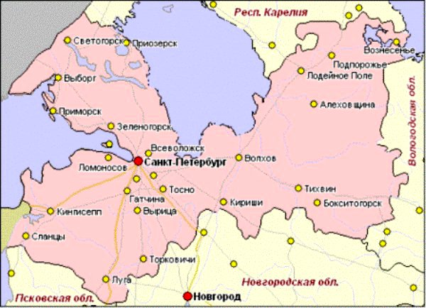 Грузоперевозки по Ленинградской области, доставка грузов Санкт ... b52edfed45d